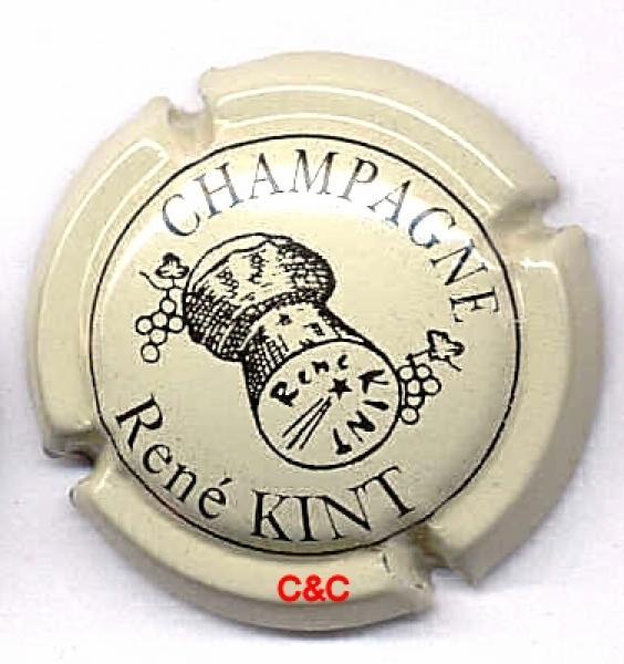 Capsule de champagne CHARBAUT Guy 3. crème et marron