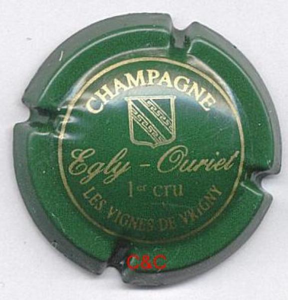 """capsule Ph.Doury  /""""Pouillon/"""" contour vert"""